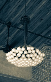 I call this an Edison Bouquet. Super cool chandelier