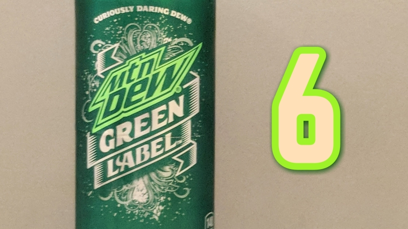 mtn dew green label – reviewed – the sodafry