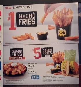 Your various fry options
