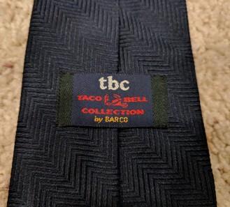 My Taco Bell tie